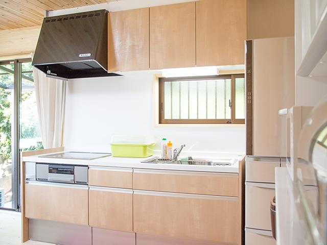 海の家(本館)キッチン