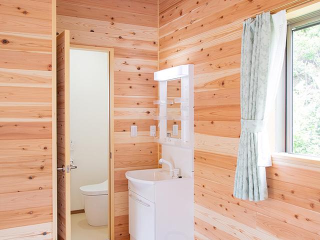 海の家(別館)洗面所