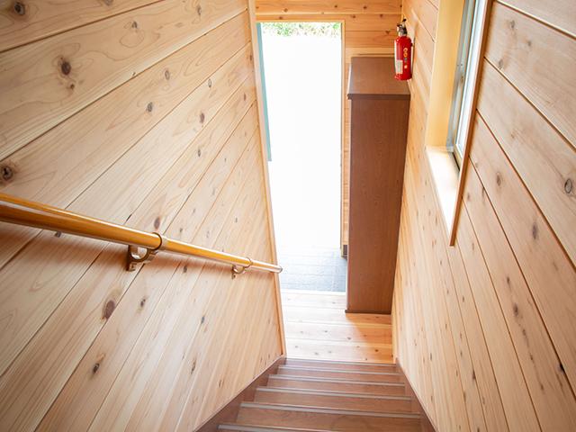 海の家(別館)階段