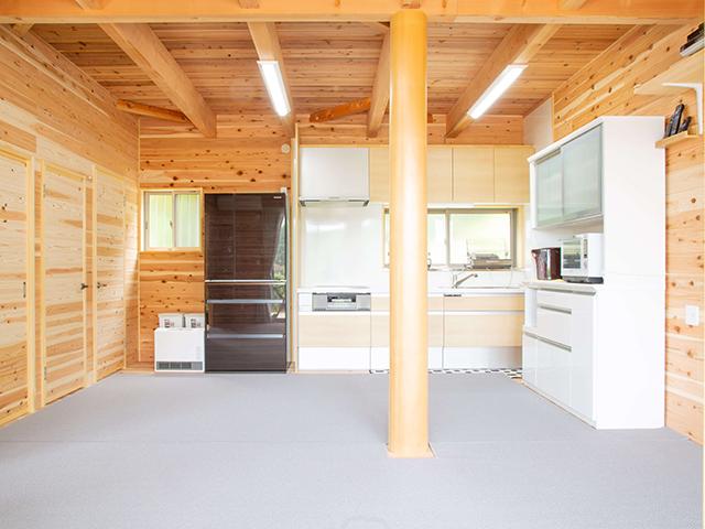 海の家(別館)キッチン全体