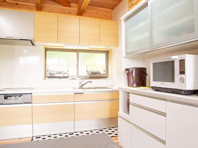海の家(別館)キッチン