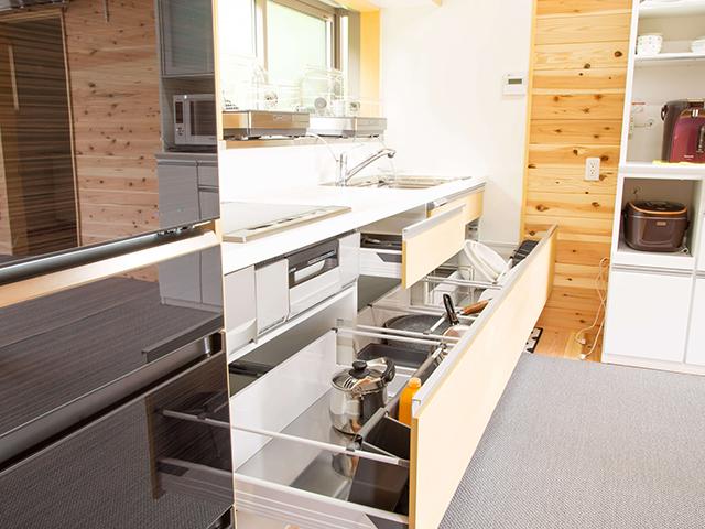 海の家(別館)キッチン設備